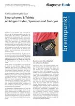 """Vorschaubild des Brennpunkts """"Smartphones und Tablets schädigen Hoden, Spermien und Embryos"""""""