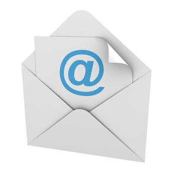 Briefumschlag mit E-Mail-Symbol