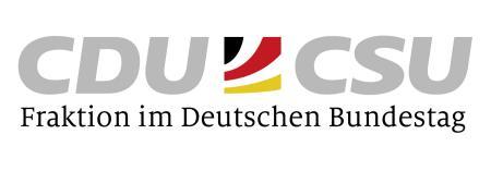 Logo Fraktion der CDU/CSU im Deutschen Bundestag