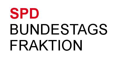symbolische Nachbildung Logo der SPD-Fraktion im Deutschen Bundestag